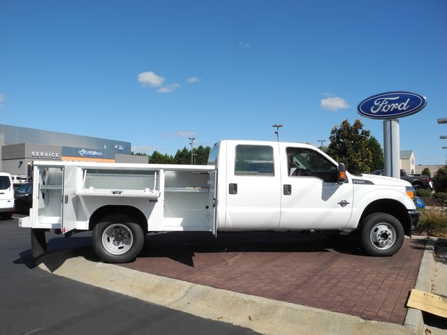 2016 F-350 Crew Cab DRW 4x4, Reading Service Body #EC76057 - photo 11