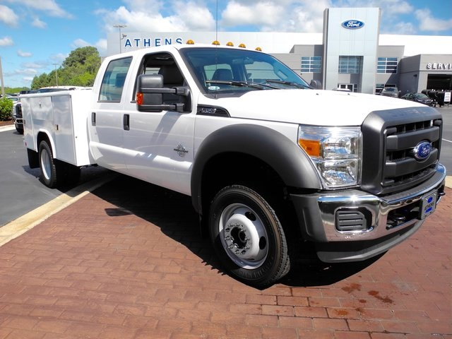 2016 F-550 Crew Cab DRW 4x4, Reading Service Body #ED31777 - photo 3