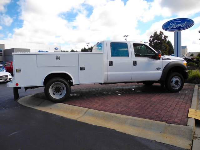 2016 F-550 Crew Cab DRW 4x4, Reading Service Body #ED31777 - photo 7