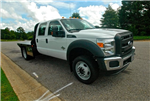 2016 F-450 Crew Cab DRW 4x4, Platform Body #ED49157 - photo 1
