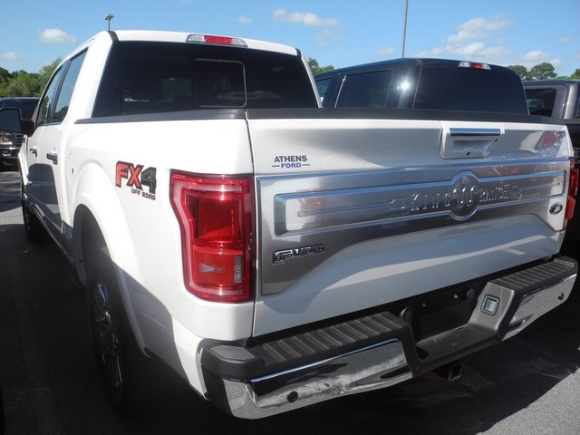 2017 F-150 SuperCrew Cab 4x4, Pickup #FB16878 - photo 2