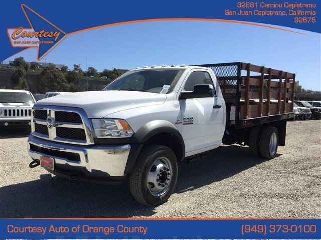 2016 Ram 4500 Regular Cab DRW, Stake Bed #6R1058 - photo 1