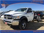 2017 Ram 4500 Regular Cab DRW Cab Chassis #7R0197 - photo 1
