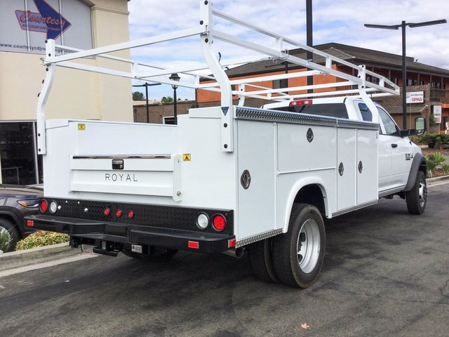 2018 Ram 5500 Crew Cab DRW, Royal Service Bodies Service Body #8R0058 - photo 4