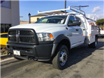 2018 Ram 5500 Crew Cab DRW 4x4, Harbor Contractor Body #8R0160 - photo 1