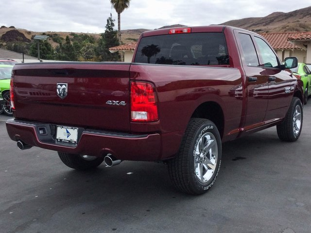 2018 Ram 1500 Quad Cab 4x4, Pickup #8R0189 - photo 7