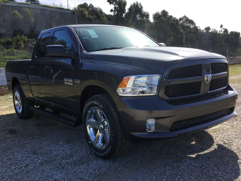 2018 Ram 1500 Quad Cab 4x4,  Pickup #8R0190 - photo 3