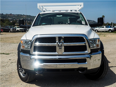 2018 Ram 5500 Crew Cab DRW 4x2,  Royal Contractor Bodies Contractor Body #8R0632 - photo 4