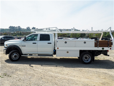 2018 Ram 5500 Crew Cab DRW 4x2,  Royal Contractor Bodies Contractor Body #8R0632 - photo 5