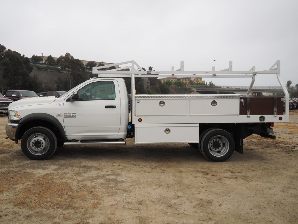 2018 Ram 5500 Regular Cab DRW 4x2,  Royal Contractor Bodies Contractor Body #8R0784 - photo 8