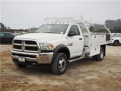 2018 Ram 5500 Regular Cab DRW 4x2,  Royal Contractor Bodies Contractor Body #8R0784 - photo 1