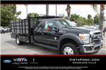 2016 F-550 Crew Cab DRW 4x4, Skaug Truck Body Works Stake Bed #C161637 - photo 1
