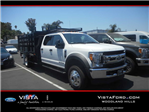 2017 F-550 Crew Cab DRW 4x4, Marathon Stake Bed #C171661 - photo 1