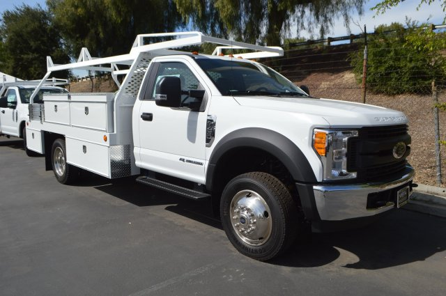 2017 F-450 Regular Cab DRW 4x2,  Scelzi CTFB Contractor Body #C172112 - photo 9