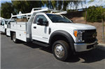2017 F-450 Regular Cab DRW 4x2,  Scelzi Contractor Body #C172112 - photo 1