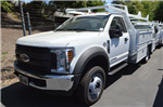 2018 F-550 Regular Cab DRW 4x2,  Scelzi Contractor Body #C180685 - photo 1