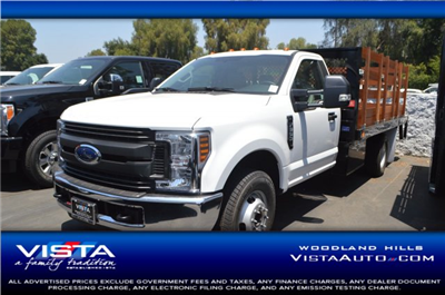 2018 F-350 Regular Cab DRW 4x2,  Marathon Stake Bed #C180935 - photo 1