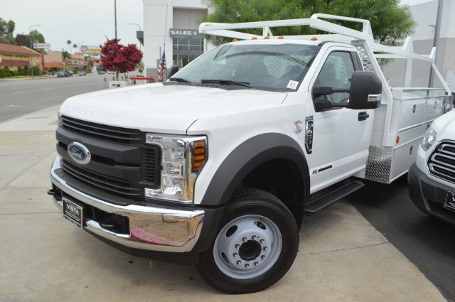 2018 F-450 Regular Cab DRW 4x2,  Scelzi Contractor Body #C180972 - photo 4