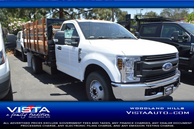 2018 F-350 Regular Cab DRW 4x2,  Marathon Stake Bed #C180994 - photo 1