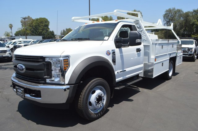 2018 F-450 Regular Cab DRW 4x2,  Scelzi Contractor Body #C181096 - photo 4