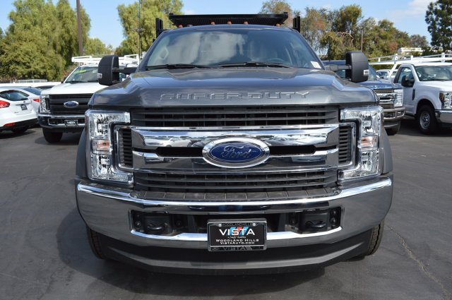 2018 F-550 Crew Cab DRW 4x4,  Stake Bed #C181195 - photo 4