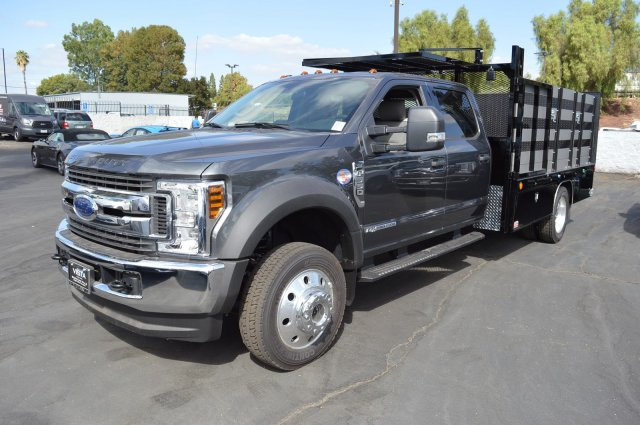 2018 F-550 Crew Cab DRW 4x4,  Stake Bed #C181195 - photo 5