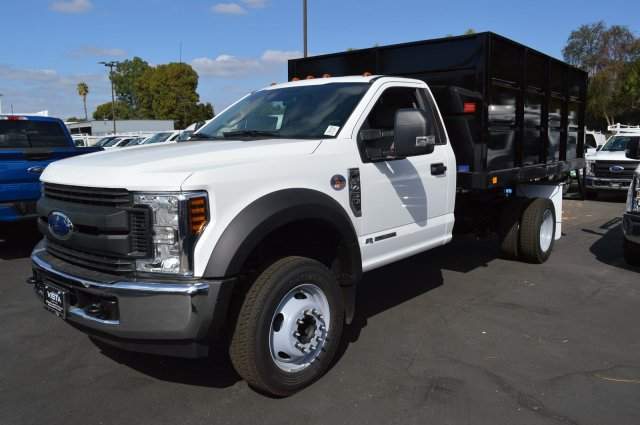 2018 F-450 Regular Cab DRW 4x2,  Landscape Dump #C181538 - photo 4