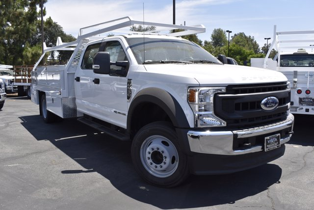 2020 Ford F-550 Crew Cab DRW RWD, Scelzi CTFB Contractor Body #C200536 - photo 1
