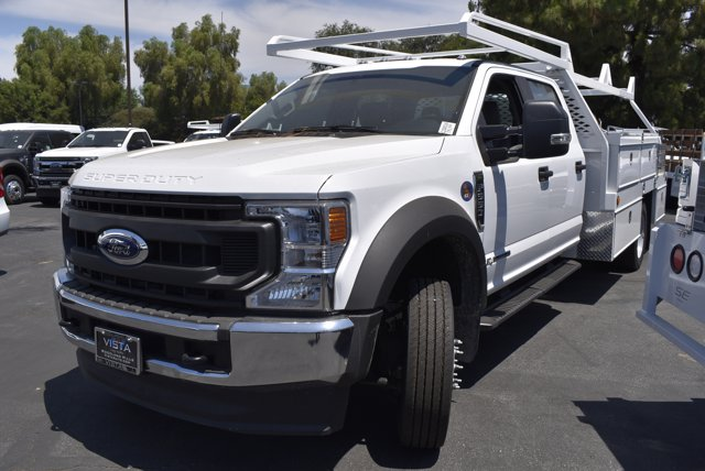 2020 Ford F-550 Crew Cab DRW RWD, Scelzi CTFB Contractor Body #C200536 - photo 4