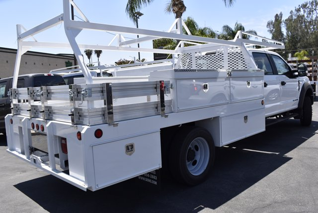 2020 Ford F-550 Crew Cab DRW RWD, Scelzi CTFB Contractor Body #C200536 - photo 2