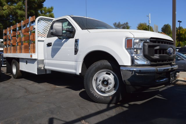 2020 Ford F-350 Regular Cab DRW RWD, Scelzi Stake Bed #C200538 - photo 1
