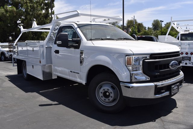 2020 Ford F-350 Regular Cab DRW 4x2, Scelzi Contractor Body #C200539 - photo 1