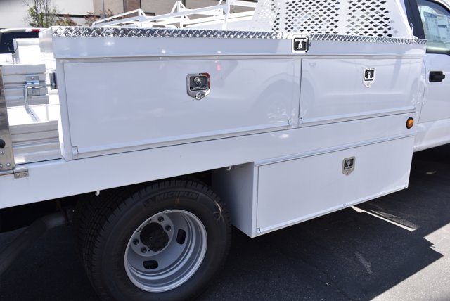 2020 Ford F-350 Regular Cab DRW RWD, Scelzi CTFB Contractor Body #C200539 - photo 8