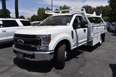 2020 Ford F-350 Regular Cab DRW RWD, Scelzi CTFB Contractor Body #C200539 - photo 4