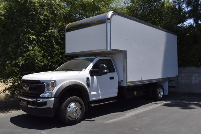 2020 Ford F-550 Regular Cab DRW RWD, Marathon Dry Freight #C200542 - photo 6