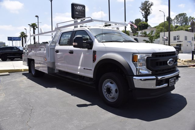 2020 Ford F-450 Crew Cab DRW 4x2, Scelzi Contractor Body #C200563 - photo 1