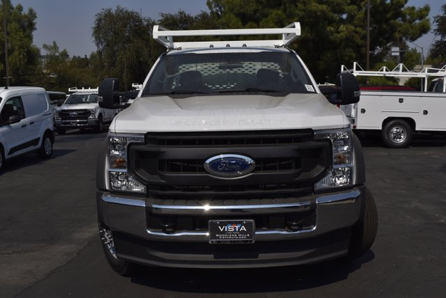 2020 Ford F-450 Regular Cab DRW RWD, Scelzi CTFB Contractor Body #C200701 - photo 3