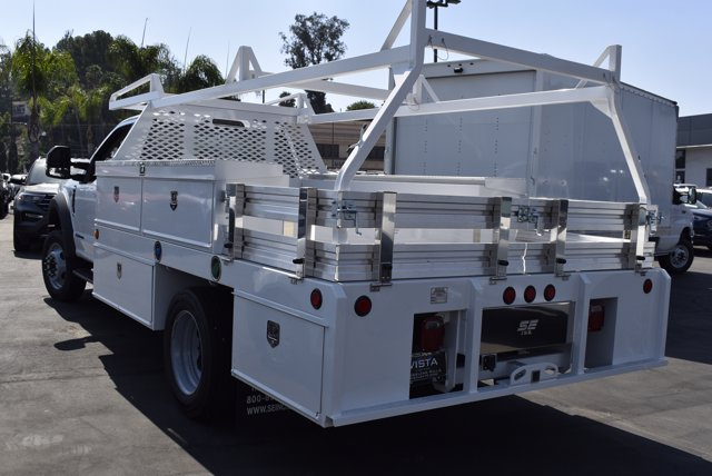 2020 Ford F-550 Regular Cab DRW 4x2, Scelzi Contractor Body #C200889 - photo 1