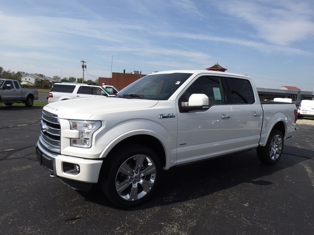 2016 F-150 SuperCrew Cab 4x4, Pickup #GFD53956 - photo 3