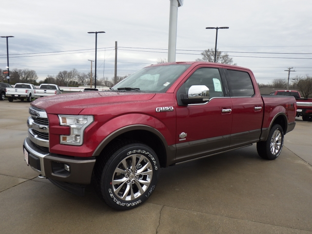 2017 F-150 SuperCrew Cab 4x4, Pickup #HFB81203 - photo 3