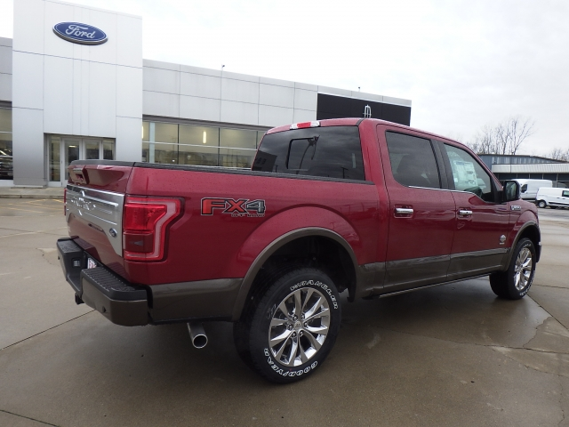 2017 F-150 SuperCrew Cab 4x4, Pickup #HFB81203 - photo 2