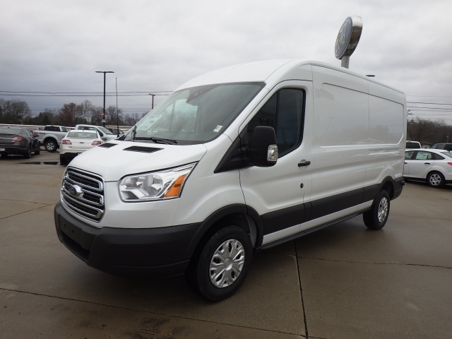 2017 Transit 250 Medium Roof Cargo Van #HKA30328 - photo 3