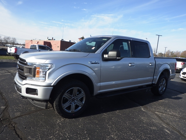 2018 F-150 Crew Cab 4x4 Pickup #JFB26041 - photo 3