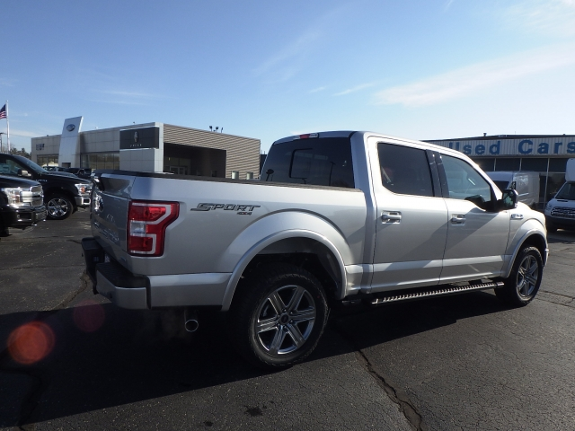 2018 F-150 Crew Cab 4x4 Pickup #JFB26041 - photo 2