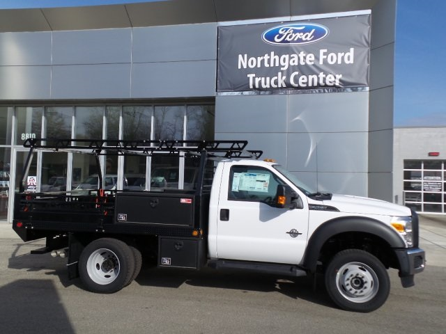 2016 F-450 Regular Cab DRW 4x4, Freedom Contractor Body #GEB34068 - photo 20