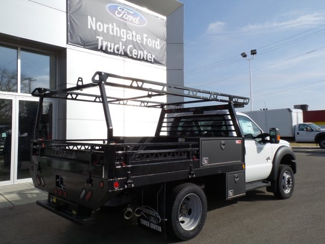 2016 F-450 Regular Cab DRW 4x4, Freedom Contractor Body #GEB34068 - photo 2