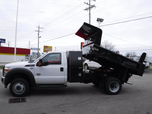 2016 F-550 Regular Cab DRW 4x4, Dump Body #GED16154 - photo 24