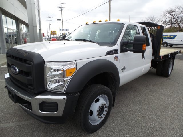2016 F-450 Super Cab DRW 4x4, Monroe Platform Body #GED16158 - photo 3