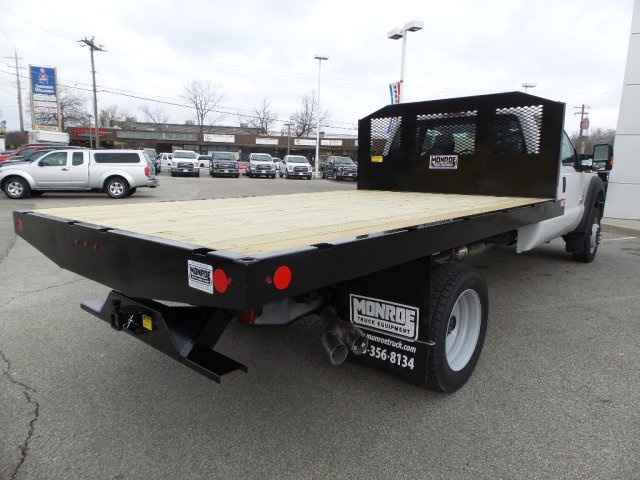 2016 F-450 Super Cab DRW 4x4, Monroe Platform Body #GED16158 - photo 2