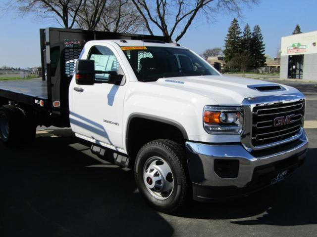 2018 Sierra 3500 Regular Cab DRW 4x2,  Knapheide Platform Body #78970 - photo 4